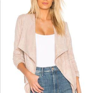 BB Dakota suede waterfall jacket cardigan blazer